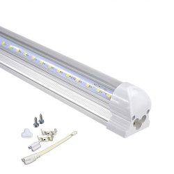 150 cm-es integrált led fénycső, átlátszó búrával hideg fehér (6000K)