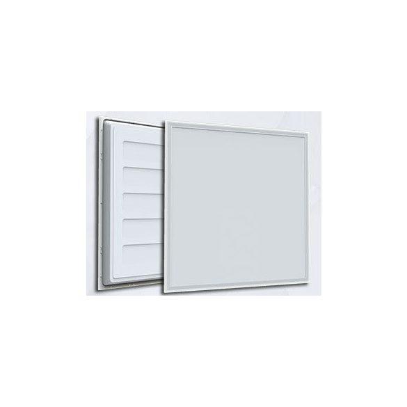 60*60 recessed backlit LED panel, 48W, 4000K, 4320 lm, white frame