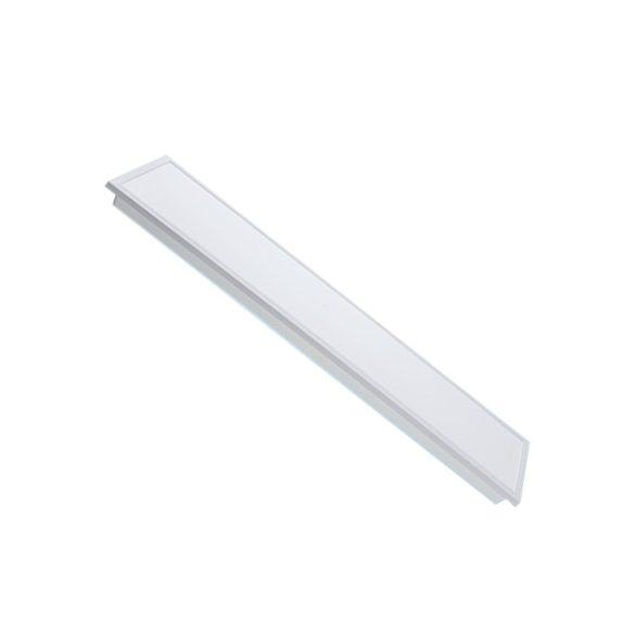 120*30 recessed backlit LED panel, 48W, 4000K, 4320 lm, white frame