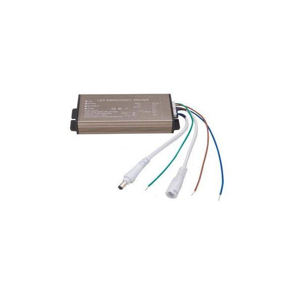 Metal case LED power supply for mini panels, AC85-265V, 3-40W, 120 mins.