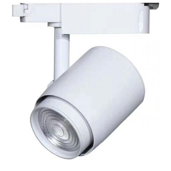 Egyfázisú sínes lámpa fehér, 36W, 3000K