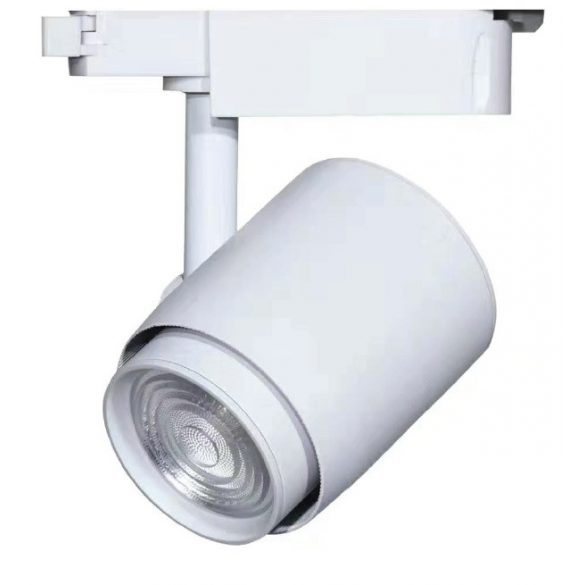 Egyfázisú sínes lámpa fehér, 36W, 4000K