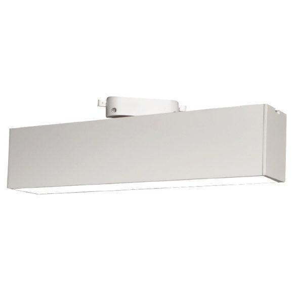 Egyfázisú sínes lámpa fehér, 12W, 4000K