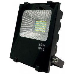 LED flood light 20W, 4500K, black housing, IP65