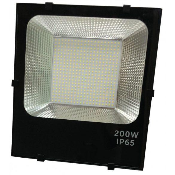 LED flood light 200W, 6500K, black housing, IP65