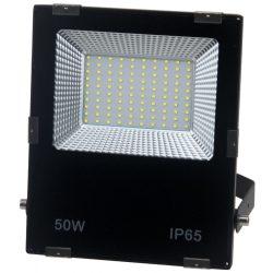 LED flood light 50W, 3000K, black housing, IP65