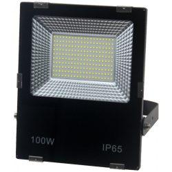 LED flood light 100W, 6500K, black housing, IP65