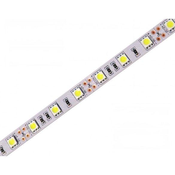 Led strip 5050 60 led / m, 4500K, IP20, 14,4W/m