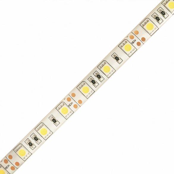 LED szalag 5050 60 led / m, 3000K, IP65, 14,4W/m