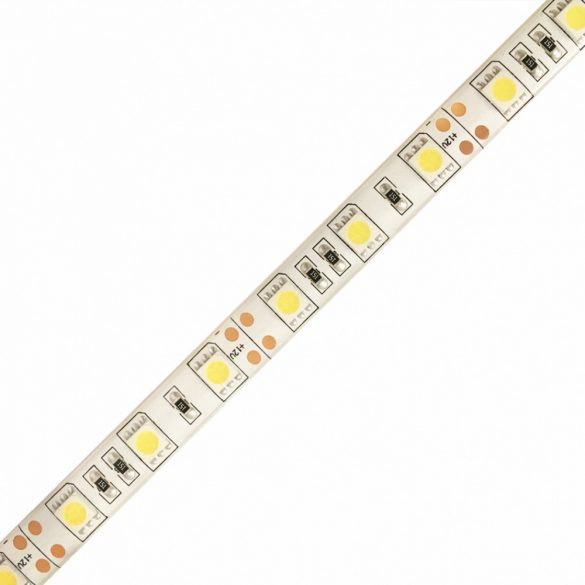 LED szalag 5050 60 led / m, 6000K, IP65, 14,4W/m
