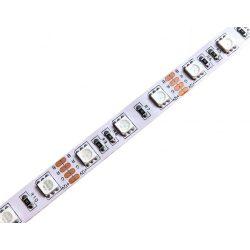 LED szalag 5050 60 led / m, RGB, IP20, 14,4W/m