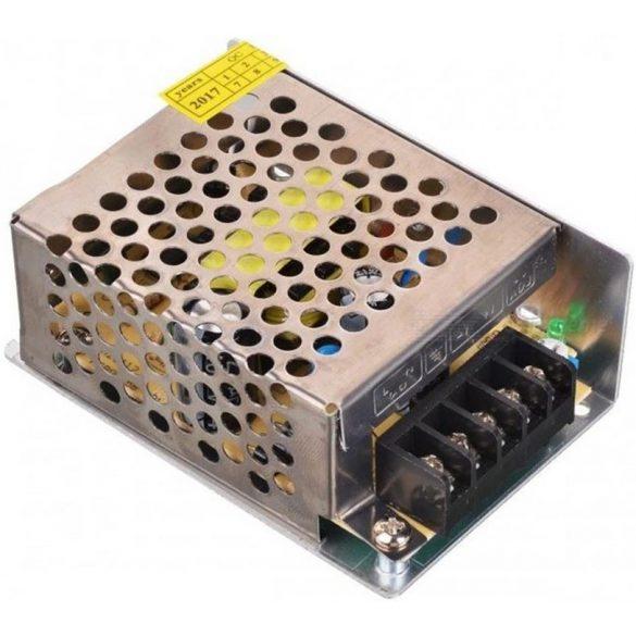 Fémházas LED tápegység 30W, DC12V, 2,5A, IP20