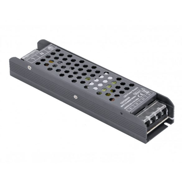 Metal case LED power supply 200W, DC12V, 16,6A, IP20