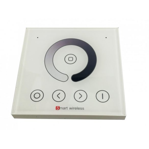 1-zone wall remote for single colour controller, power: AC90-265V, RF: 2,4G