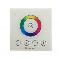 1-zone wall remote for RGB strip controller, power: AC90-265V, RF: 2,4G