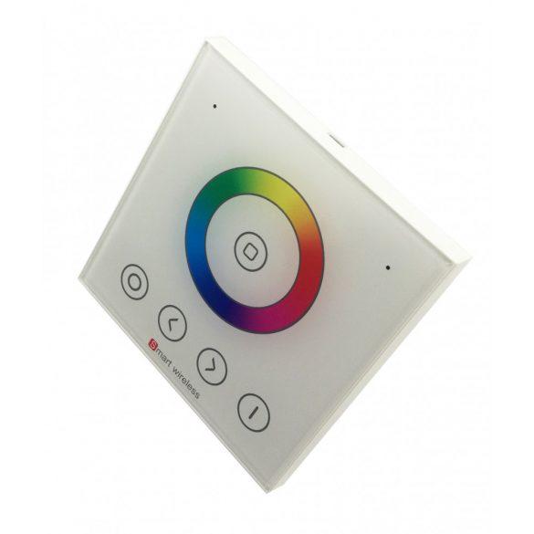 1 zónás fali vezérlő RGB led szalaghoz