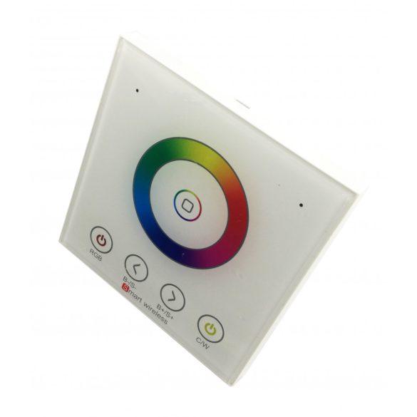 1 zónás fali vezérlő RGBW led szalaghoz