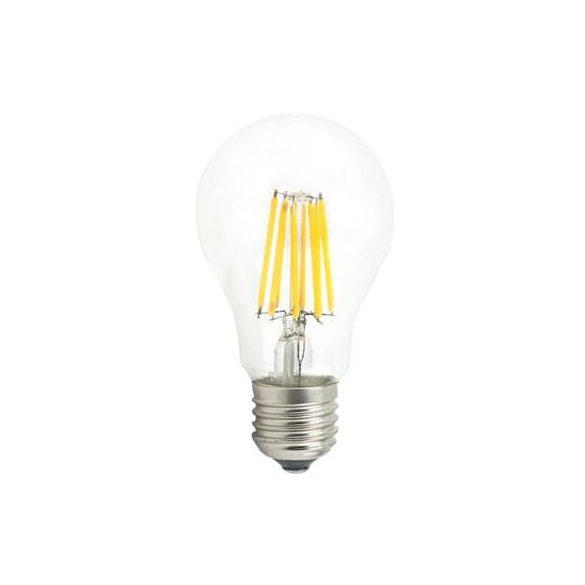 E27 8W filament led égő fényerőszabályozható semleges fehér (4500K)