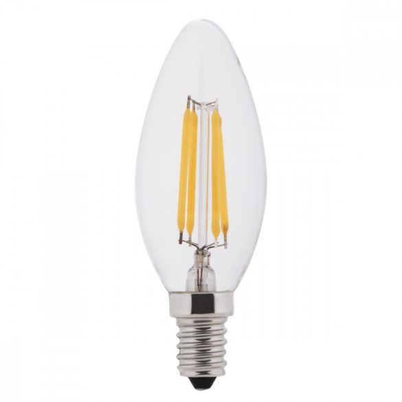 LED CANDLE C35 4W 400LM E14 175-265V Dimmable 4500K