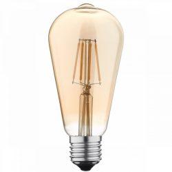 LED BULB ST64 7W 810LM E27 175-265V Dimmable GOLDEN GLASS 4500K
