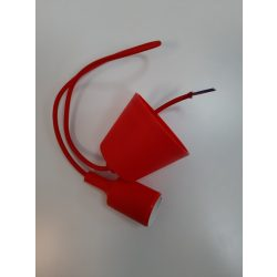 Hanging cable with E27 Socket red color